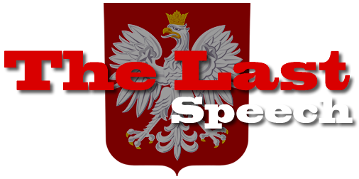 The Last Speech website logo.