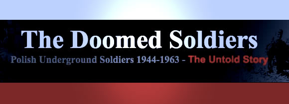 Doomed Soldiers website banner.