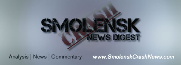 Smolensk Crash News Digest banner.