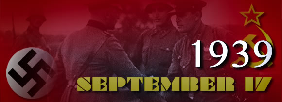 September 17, 1939 website banner.